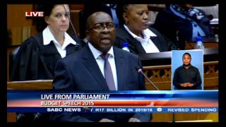 Minister Nene's full budget speech 2015
