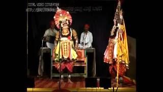 Yakshagana-Kyadagi as dushyasana in Chakravyuha