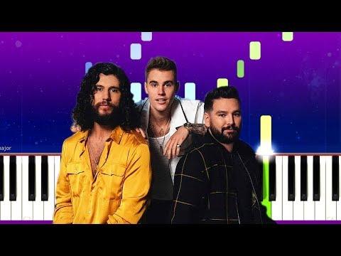 Dan + Shay, Justin Bieber - 10,000 Hours (Piano Tutorial)