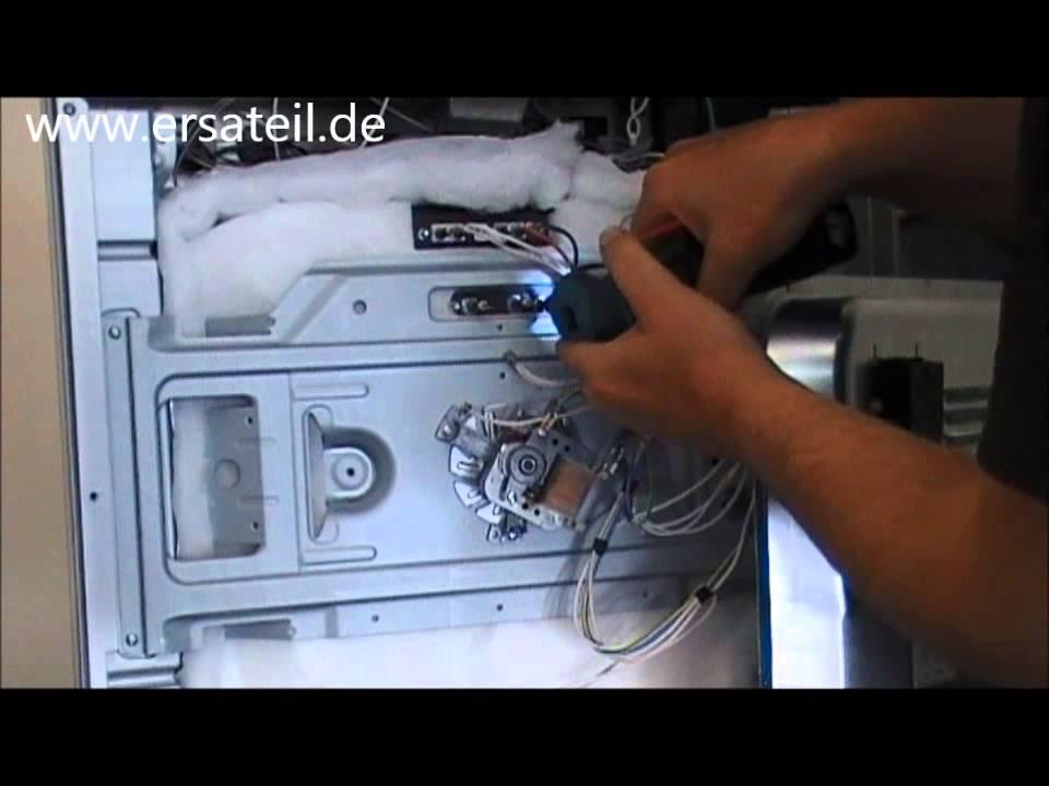 Umluftheizung Backofen austauschen | Videoanleitung - YouTube