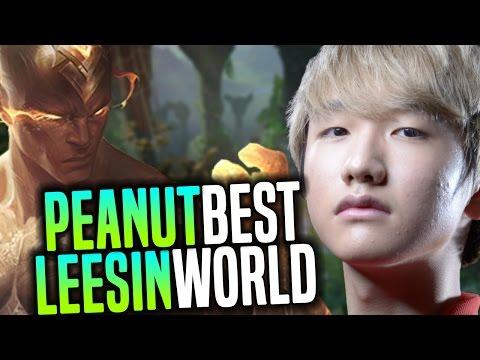Peanut The Best Lee Sin In The World Showing Amazing Lee Sin Mechanics | SKT T1 Peanut Korea SoloQ