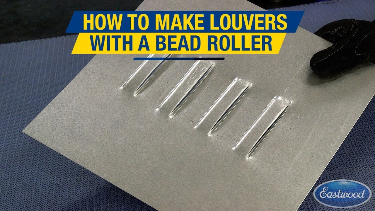 Create Professional Looking Louvers Using The Bead Roller