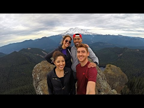 Hike To High Rock Lookout, Mt. Rainier | GoPro