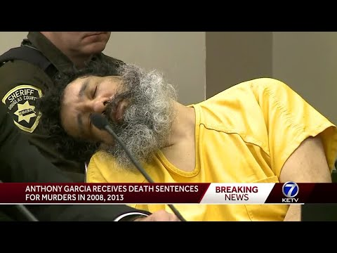 Anthony Garcia given death penalty for murders in 2008, 2013