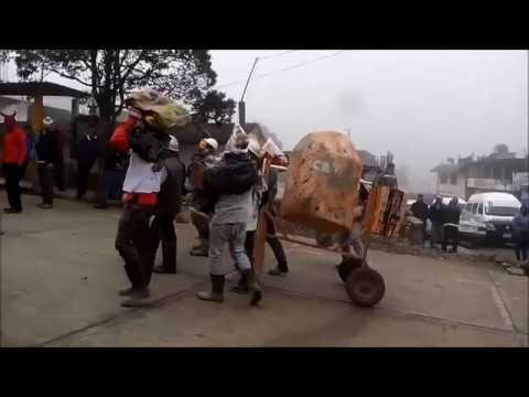 Los COLADORES Carnaval Tenango de Doria 2016