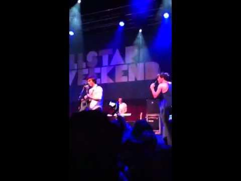 Allstar Weekend - Yeah x3 Live