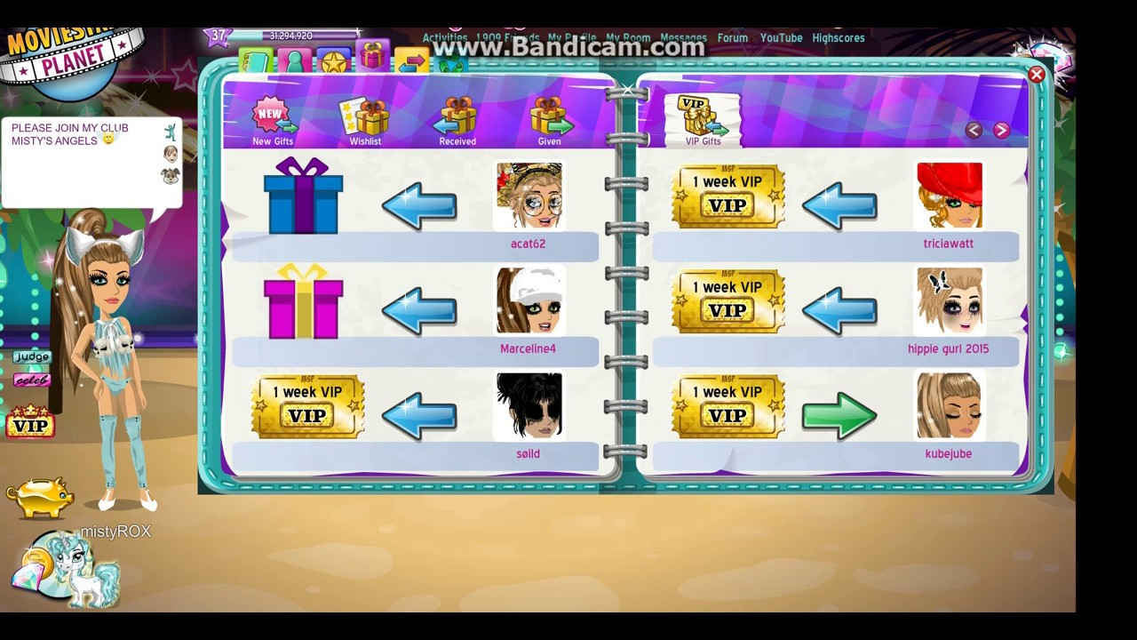 Getting A Vip Ticket For Free Msp Youtube