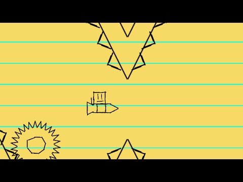 CUADRICULADO! Geometry Dash [2.0] - Paper World By Sem1 - Bycraftxx