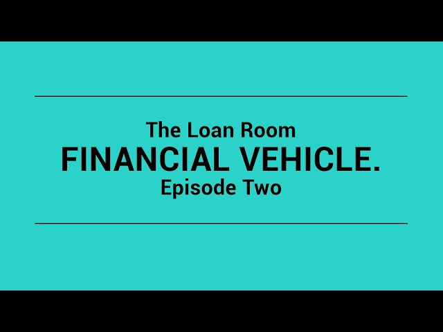 Personal Finance Episode 2 | The Loan Room