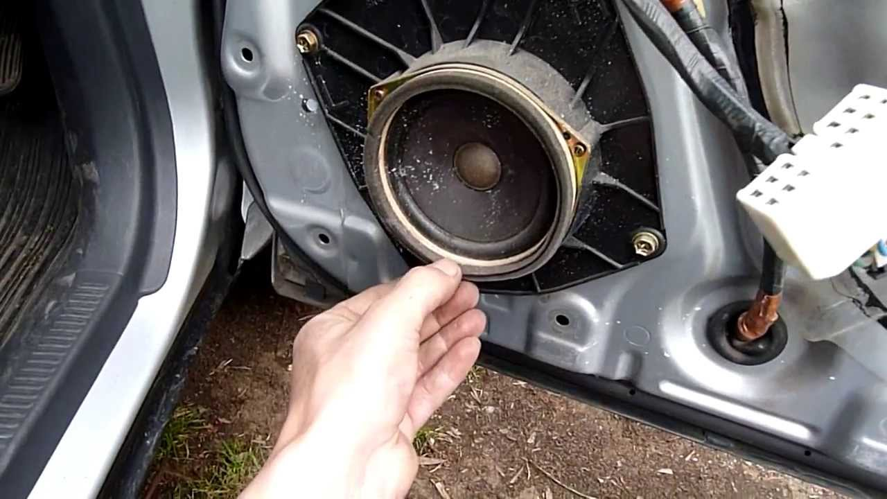 betty rav4 blown door speaker inspection