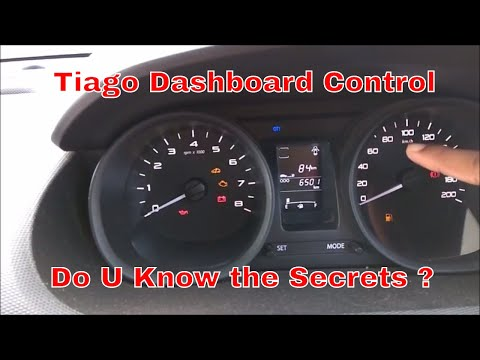 Tata Tiago Dashboard Controls For New Driver Part-1