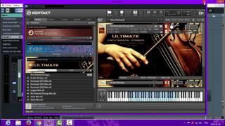 """download Free Ultimate Pro Oriental Strings """"Kontakt'"""