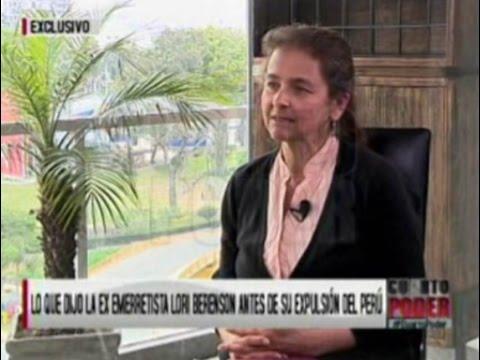 ENTREVISTA Lori Berenson antes de su expulsión del Perú (PARTE 1)
