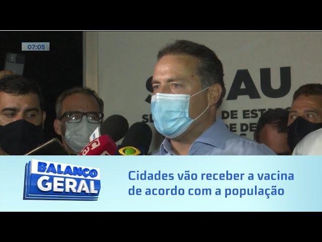 Proporcional: Municípios alagoanos irão receber a vacina de acordo com a população de cada local