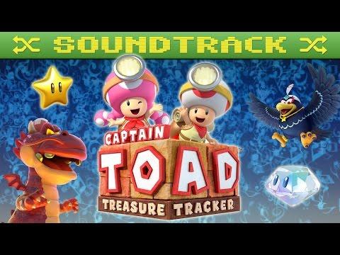 Captain Toad: Treasure Tracker - Soundtrack OST [Shuffled] (Mahito Yokota 横田 真人)