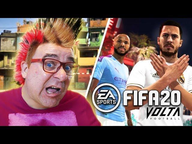 FIFA 20 GAMEPLAY | VOLTA O INICIO DO MODO HISTÓRIA