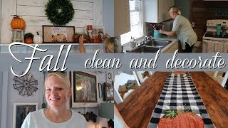 FALL CLEAN AND DECORATE