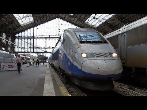 TGV At Paris Austerlitz Station