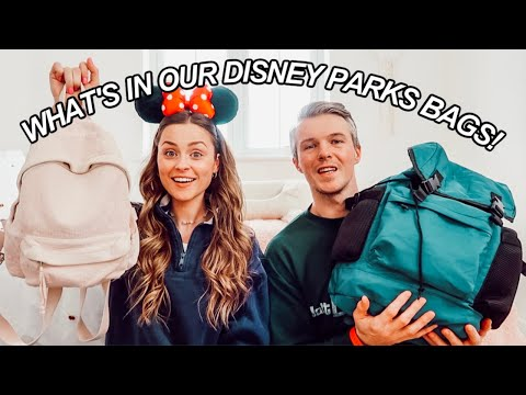 What To PACK In Your DISNEY WORLD Parks BAG!!
