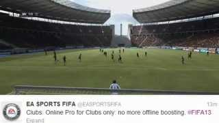 FIFA 13 Pro Clubs Info! No hacking, New Accomplishments and MORE!