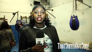 Murder She Wrote / Couture Talks About Being The First Female Battle Rapper On The B.E.T Cipher.