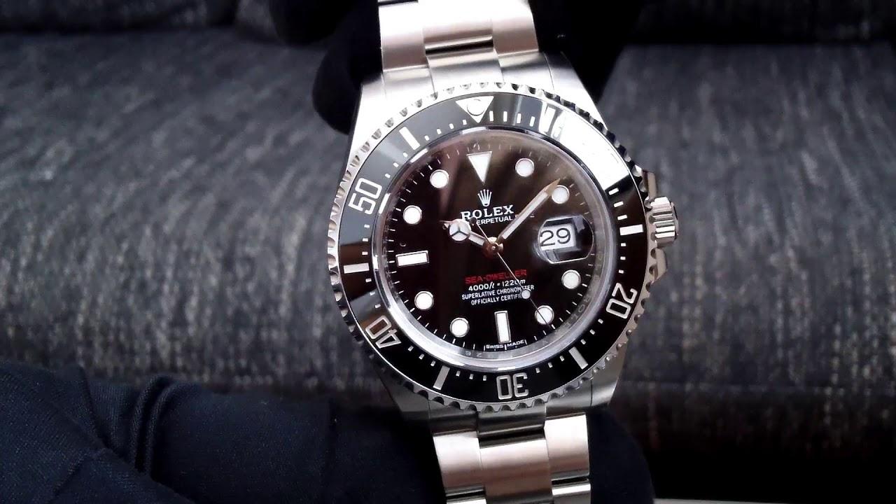 Rolex Sea Dweller Red 50th Anniversary