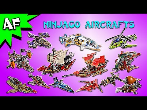Every Lego Ninjago AIRPLANES / AIRCRAFTS Complete Collection!