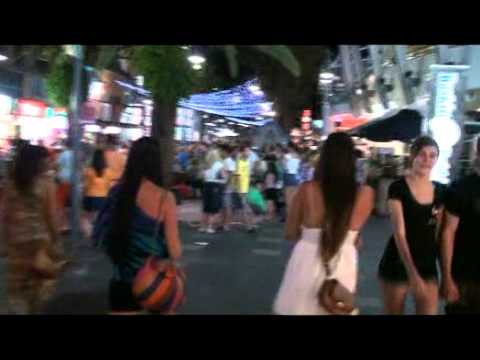 Tour of Surfers Paradise by night Gold Coast QLD AUSTRALIA