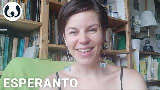 Native Esperanto speaker | Stela speaking the Esperanto language | Wikitongues