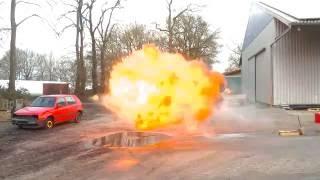 Feuerbälle schießen