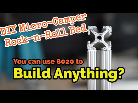 diy-aluminum-rock-n-roll-bed-part-1-//-e04-//-basics-of-cutting-and-joining-8020-extruded-aluminum