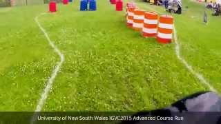 IGVC 2015 UNSW Advanced Course GoPro - Speed Record