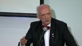 Janusz Korwin-Mikke na Kongresie OPZZ Rolników i Organizacji Rolniczych 25.01.2015