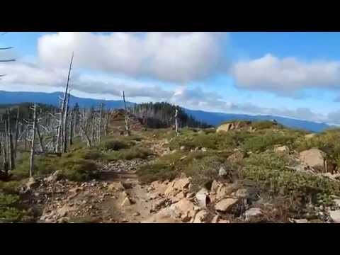 Hiking in the Kalmiopsis Wilderness, Oregon November 2014