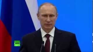 Владимир Путин вручил награды победителям Сочи-2014