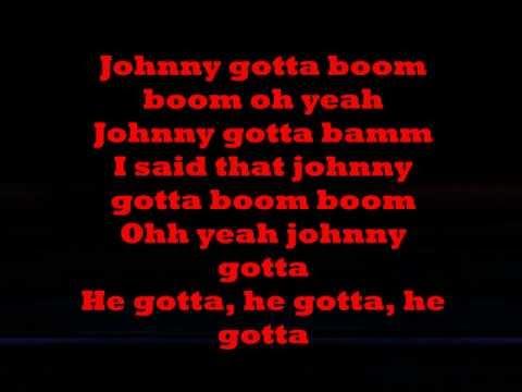 Imelda May-lyrics-Johnny got a boom boom