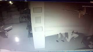 Взлом, кража, магазин, ролл шторы(Вынесли кассу с магазина., 2015-02-26T05:10:54.000Z)