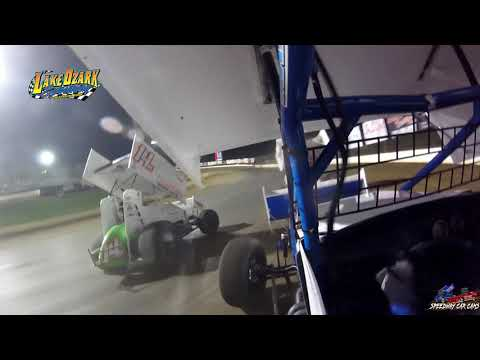 #3 Ayrton Gennetten - 360 Sprint - 7-14-19 Lake Ozark Speedway- In Car Camera