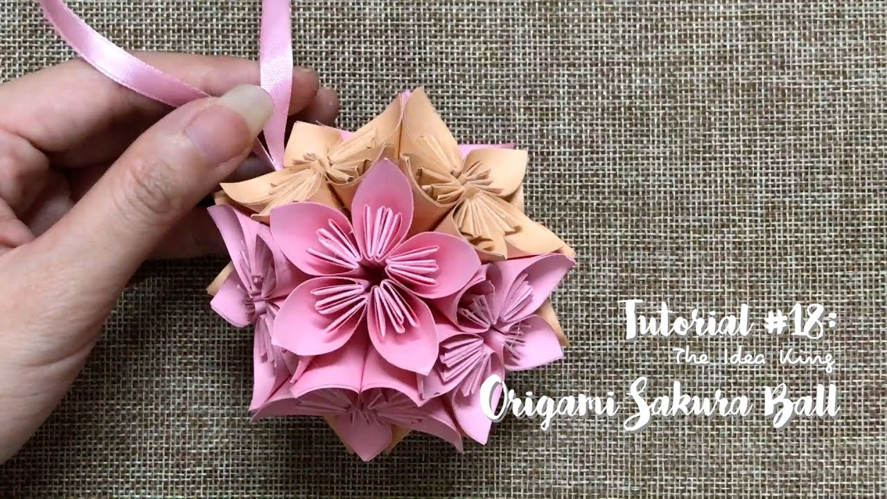How to Make a Origami Cherry Blossom | 720x1280
