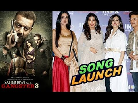 Song Launch Of Lag Ja Gale From Saheb Biwi Aur Gangster 3 | Chillx Bollywood