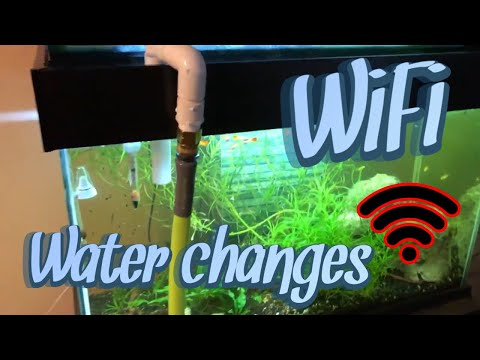 Wifi Garden Hose Fish Tank Water Changes
