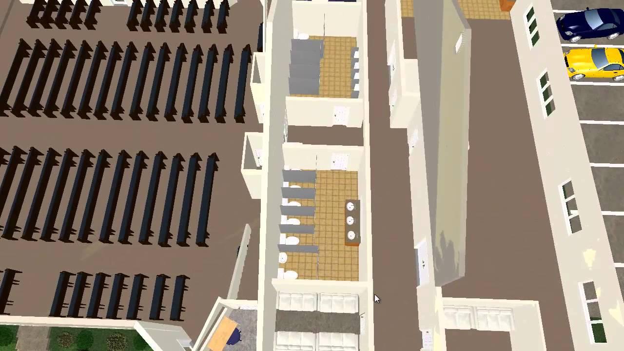 10000 sq ft church plans.  Plan3D com renders Church Floor Plan to 3D YouTube