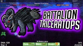 RISE OF THE TRICERATOPS!! | Dinosaur Simulator | Roblox