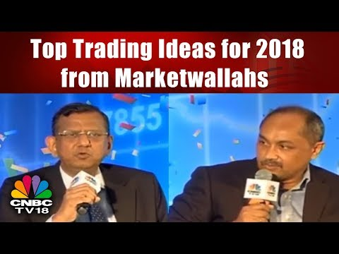 Top Trading Ideas for 2018 from Marketwallahs | CNBC TV18