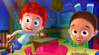 Schoolies Exercise song   Fun Nursery Rhymes for Kids and Children