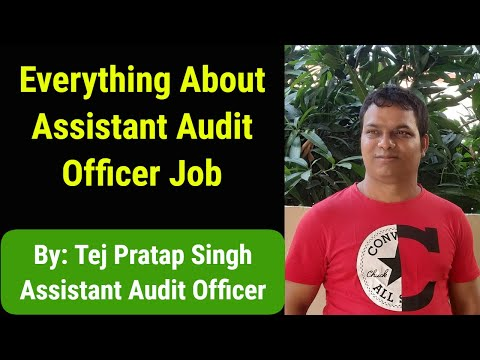 Everything about Assistant Audit Officer |Job Profile| |Salary| |Posting Detail|