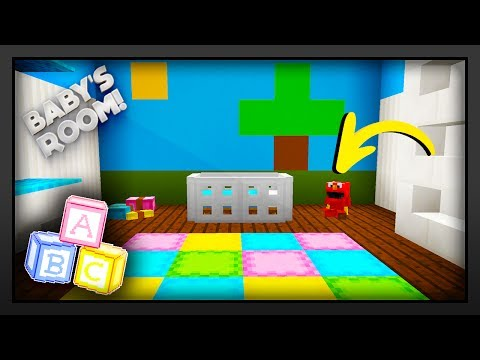 Minecraft - How To Make A Baby's Room/Nursery
