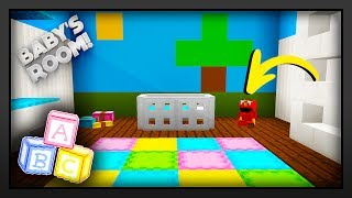 minecraft   how to make a babys roomnursery