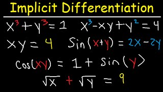 Download Video Implicit Differentiation Second Derivative Trig Functions & Examples- Calculus MP3 3GP MP4