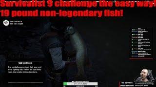 Red Dead Redemption 2 19+ pound non legendary fish for survivalist 9